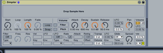 Dropping Samples onto Ableton Drum Rack Cells