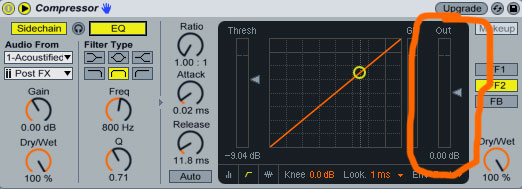 Side Chain Compression in Ableton Live Tutorial