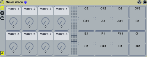 Ableton Live Drum Racks