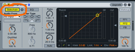Enable Side Chain