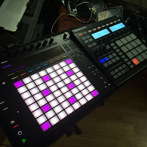 Ableton Push 2 and Native Instruments Maschine Lessons