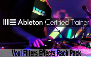 Ableton Effects Racks Vowel Filters