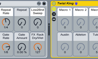 Ableton Live Effects Racks